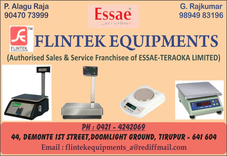FLINTEK EQUIPMENTS