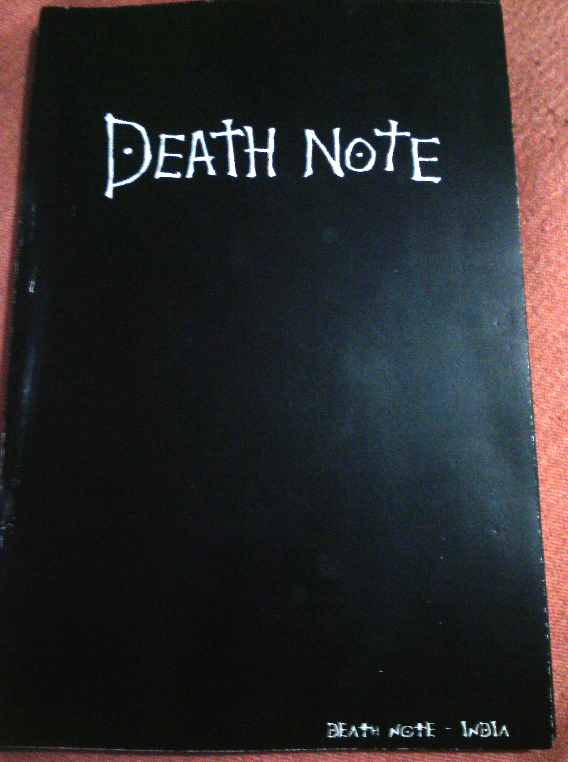 DEATH NOTE - INDIA