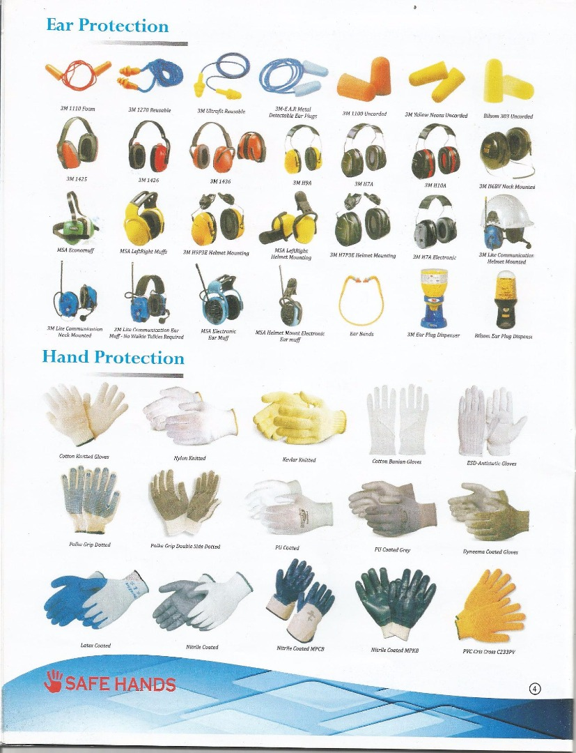 SAFE HANDS INDUSTRIAL PRODUCT
