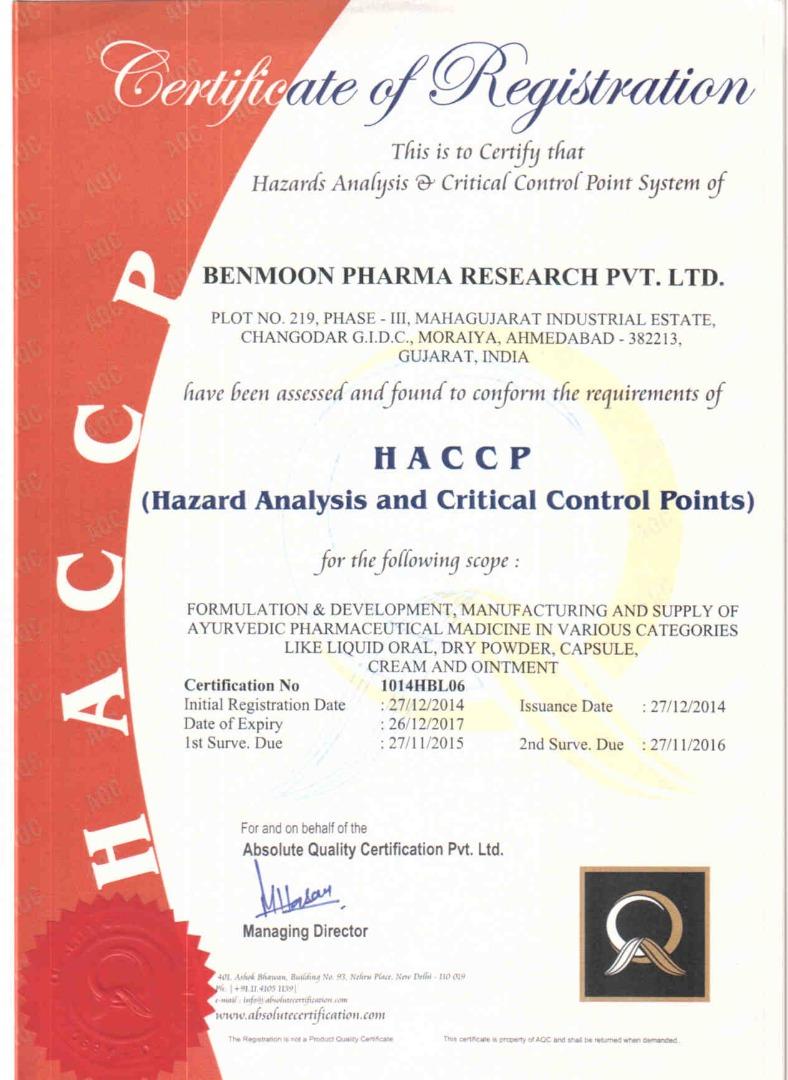 Benmoon Pharma Research Pvt Ltd
